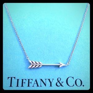 Tiffany & Co. Arrow Pendant Necklace